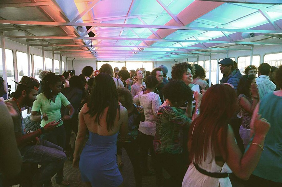 A previous boat dance party - PHOTO COURTESY MIGUEL ESCOBEDO OF PAPALOTE
