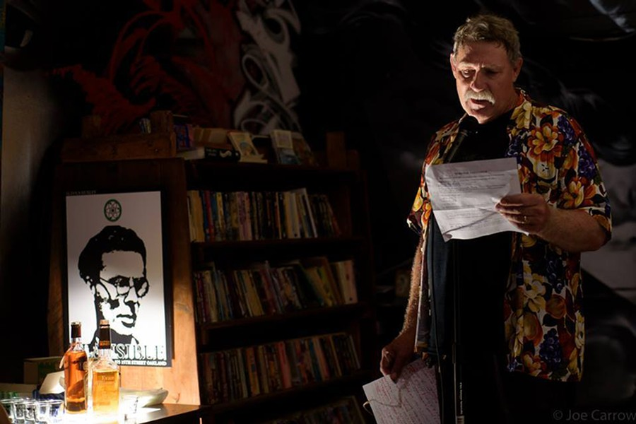 Last year's Writing Without Walls open mic. - PHOTO COURTESY OF BEAST CRAWL LITERACY