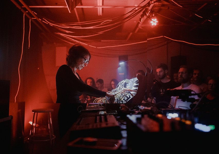 Suzanne Ciani has received praise for her pioneering use of Don Buchla's synethsizers - PHOTO BY KAREL CHLADEK