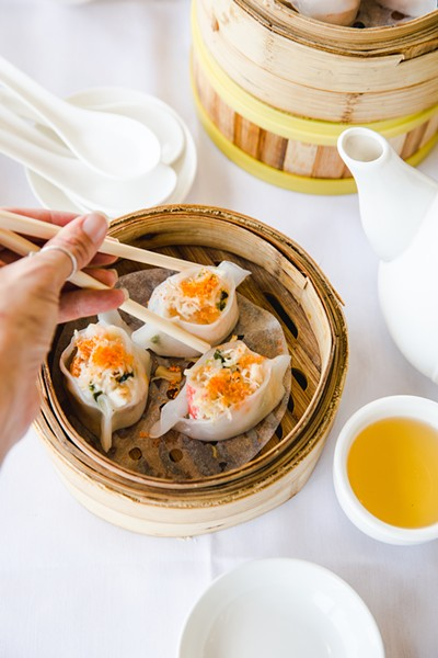 The scallop dumplings show a delicate touch. - PHOTO BY KALA MINKO