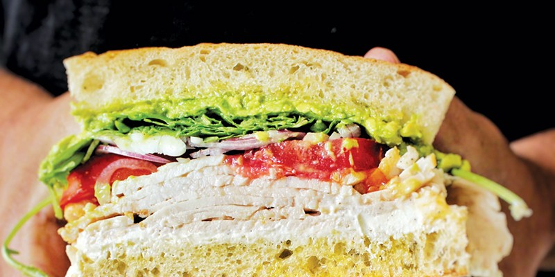 CLASSIC: The turkey sandwich at Lucia's Craft Sandwich is worth the drive.