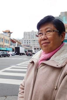 "Li Ya Chen thinks the ballpark will ""disrupt normal life."""