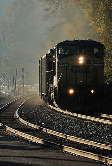 The coal would arrive in Oakland by train.