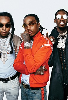Migos headlines the first-ever Blurry Vision festival.