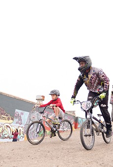 Kids can ride for free at Dirt World 365 days a year.