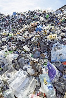 The market for such recyclables has collapsed.