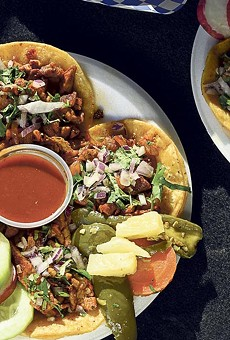 Tacos al pastor and Suadero: tender and juicy.