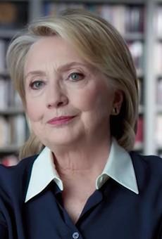Hillary Clinton in Hillary.