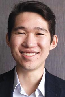 SEEN:Fremont mayoral candidate Justin Sha.