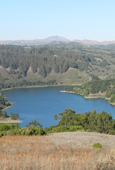 Lake Chabot Regional Park in Castro Valley.