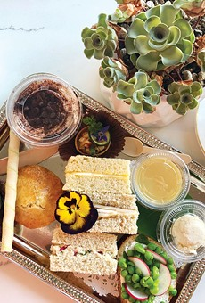 TEA TIME: 'Afternoon tea is such a huge thing in Southeast Asia, especially Malaysia,' says Leena Lim.