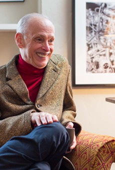 John Waters at home in San Francisco.