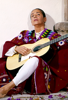 A scene from Chavela.