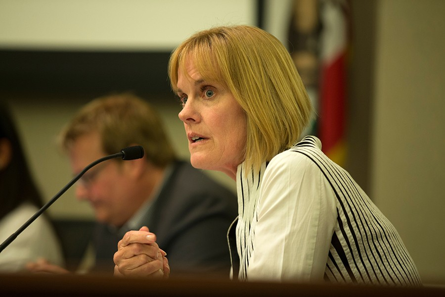 The council's dissatisfaction with Keimach appears to predate her fire chief choice. - PHOTO BY D. ROSS CAMERON