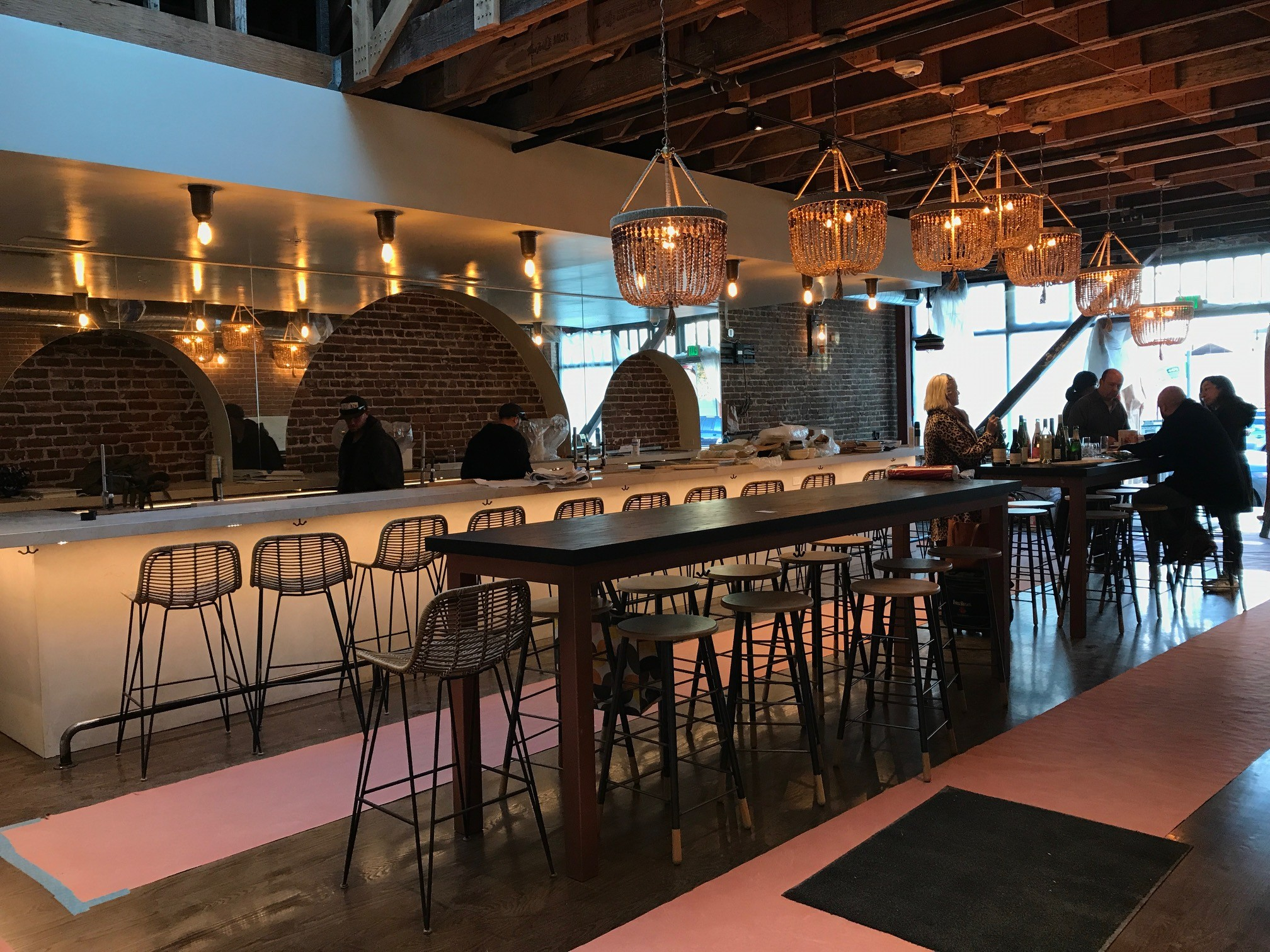 Oeste bar kitchen now open in old oakland food drink for Food bar oakland