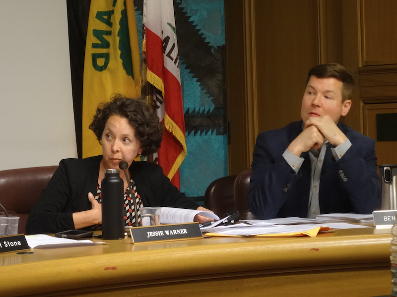 Oakland's rent board denied a landlord's appeal last night seeking to permanently exempt two apartment buildings from rent control. - DARWIN BONDGRAHAM