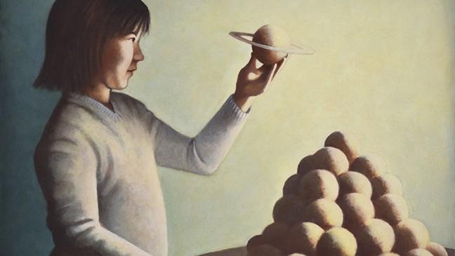 "Dana DeKalb's ""Harmony"" offers multiple interpretations. - PHOTO COURTESY OF BERKELEY ART CENTER"