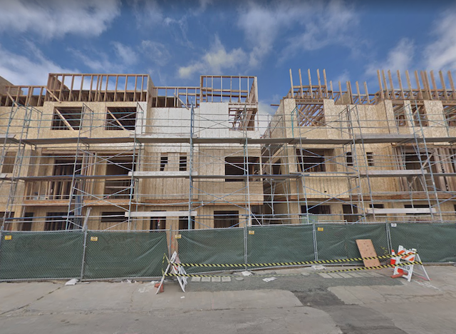 Little security is evident at the construction site, according to views on Google Maps from April 2018.