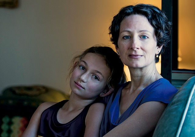 Shona Curley, with daughter Sophia Delmon, is coping with Lyme disease. - PHOTO BY PAT MAZZERA