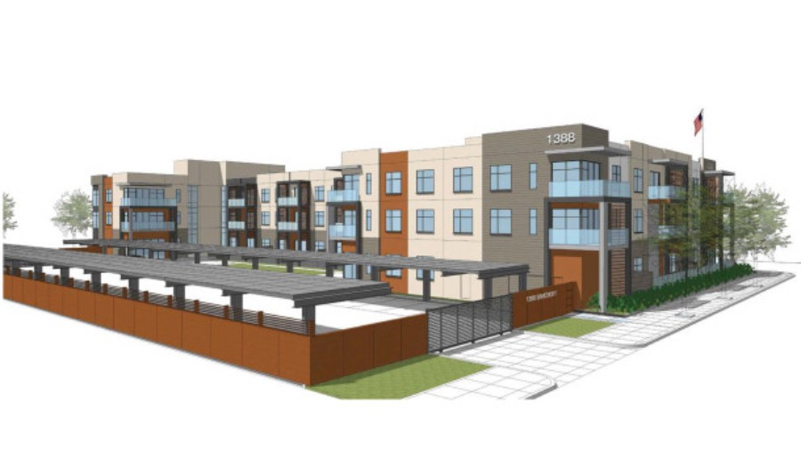 Housing developments like the proposed market-rate project on Bancroft Avenue in San Leandro could be affected by a judge's ruling Monday allowing charter cities to retain authority to approve housing projects at the local level. - FILE PHOTO