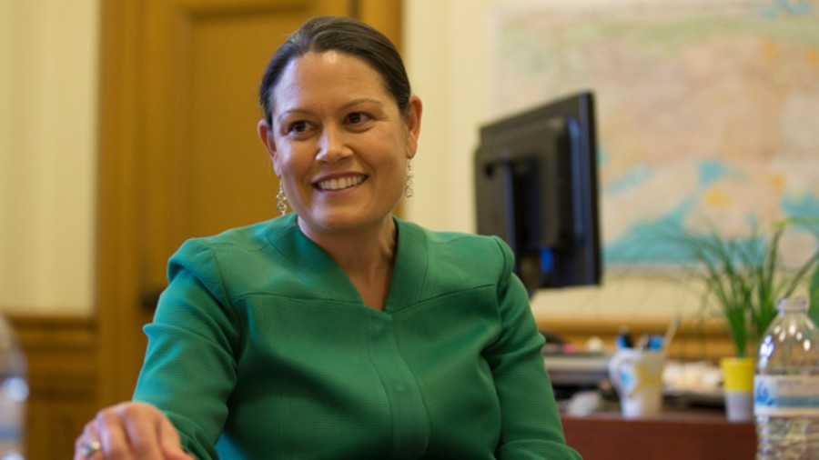 Oakland City Administrator Sabrina Landreth was hired in July 2015. - D. ROSS CAMERON