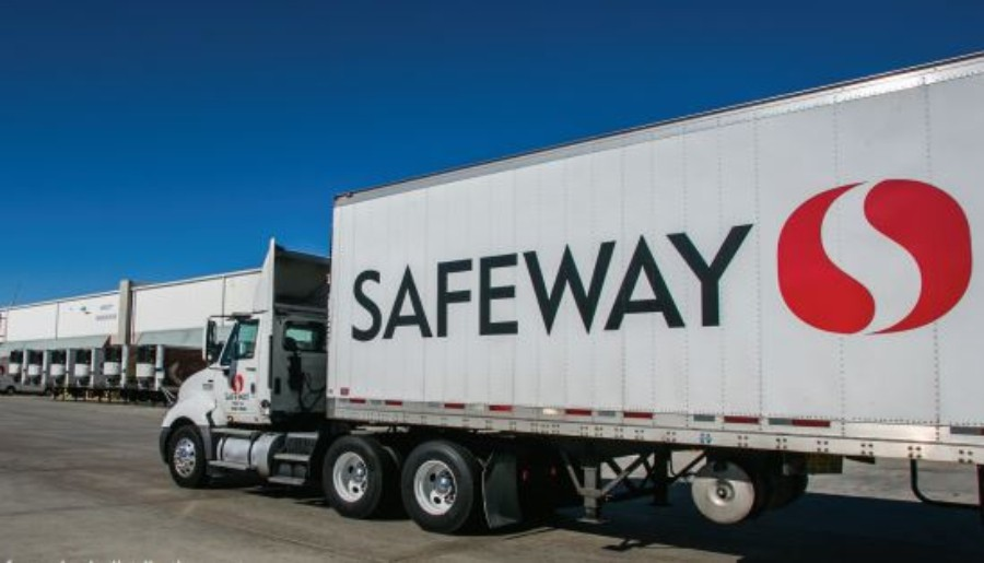 The 2.2 million sq. ft Safeway distribution hub in Tracy. - CITY OF TRACY
