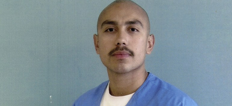 Jose Armendariz, 29, convicted of second-degree murder, poses at the Kern Valley State Prison in 2017. He has since been moved to the Theo Lacy Jail in Orange County, where he and other medically fragile inmates worry that the spread of the coronavirus could be deadly for them. - (PHOTO COURTESY OF JOHANNA DIAZ)