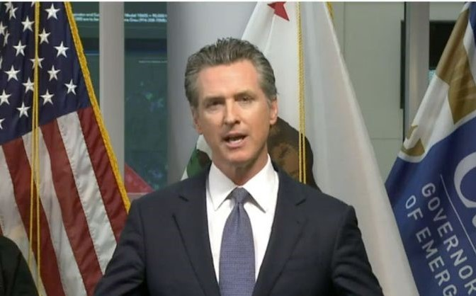 Gov. Gavin Newsom - FILE PHOTO