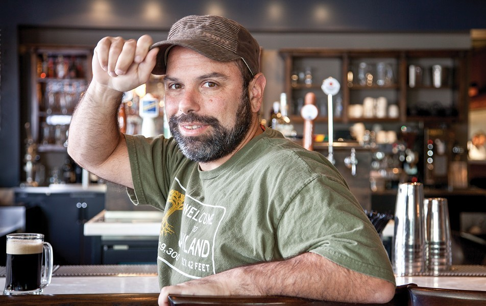 Tribune Tavern owner Chris Pastena is closing down the downtown Oakland eatery. - FILE PHOTO