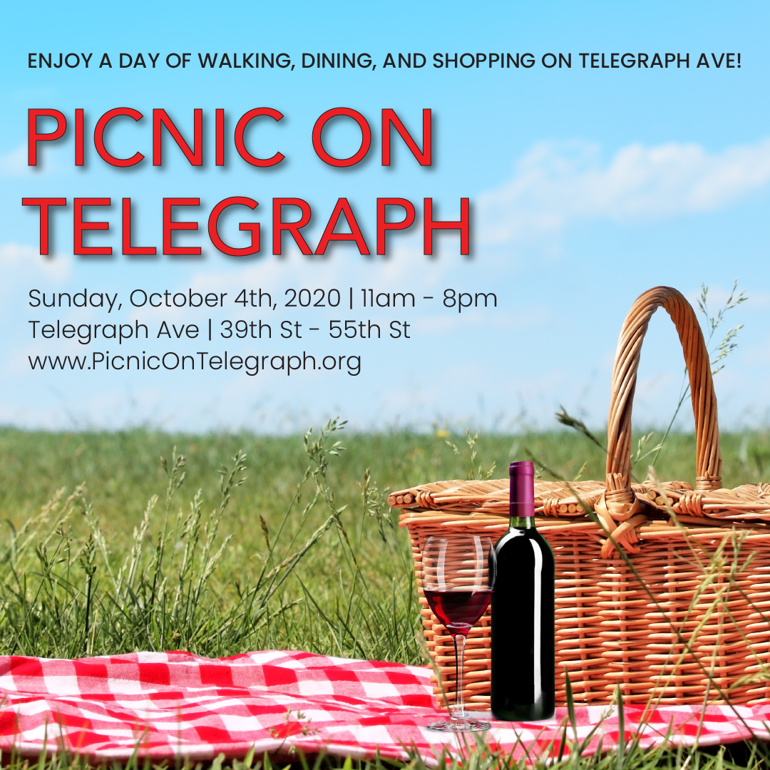 Halloween Events Carnelian Bay 2020 Picnic on Telegraph | 49th St. at Telegraph Ave. | Uncategorized