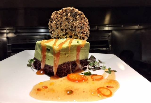 """Spring Semifreddo"" is one of the desserts you might find at Millennium. - MILLENNIUM RESTAURANT"