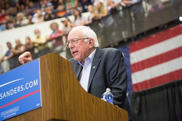 Bernie Sanders. - ERCI TADSEN/FILE PHOTO