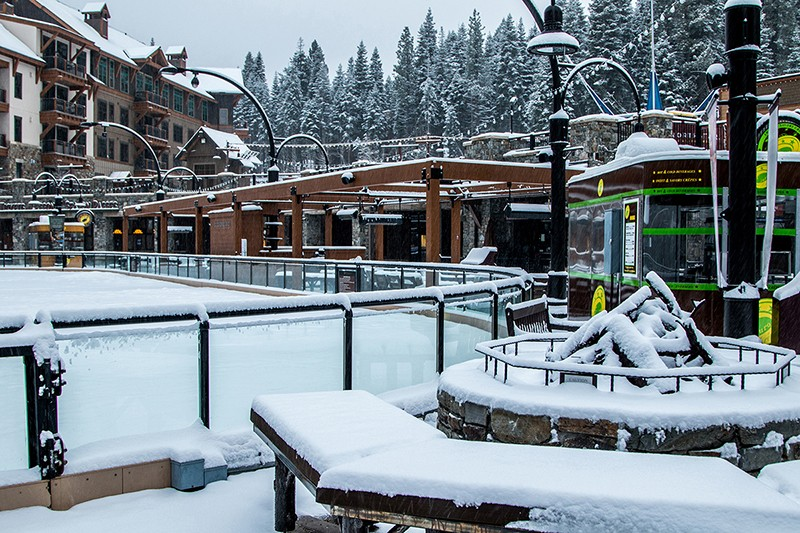 Northstar offers upscale accommodations.