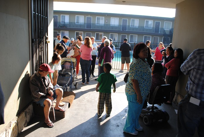 Tenants at the Bay View Apartments received eviction notices from Sridhar. - STEVEN TAVARES/FILE PHOTO