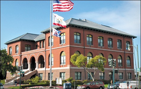 Alameda City Hall.
