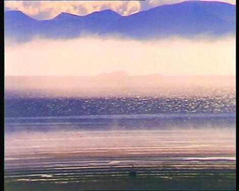 A scene from Peter Hutton's Skagafjörður.