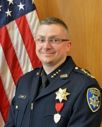 Oakland Police Chief Sean Whent.