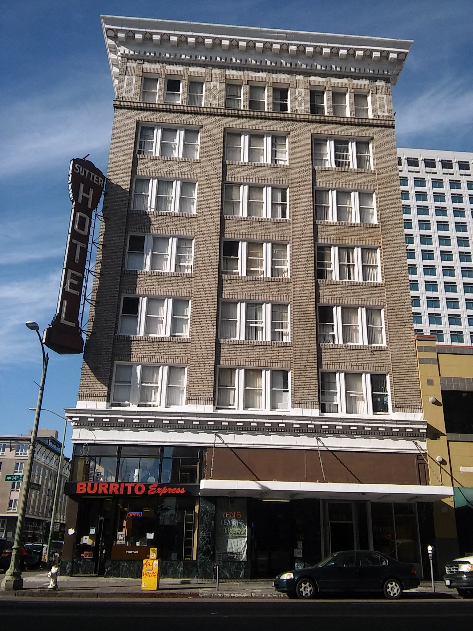Click To Enlarge The Sutter Hotel Is One Of Oakland S Few Remaining Single Room Occupancy Hotels