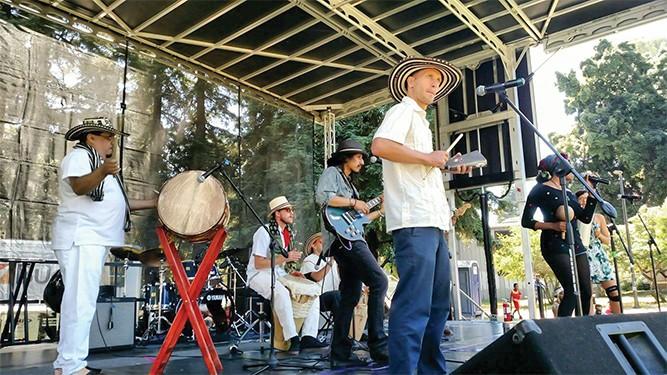 Calafia Armada at an event in Mosswood Park. - COURTESY OF CALAFIA ARMADA