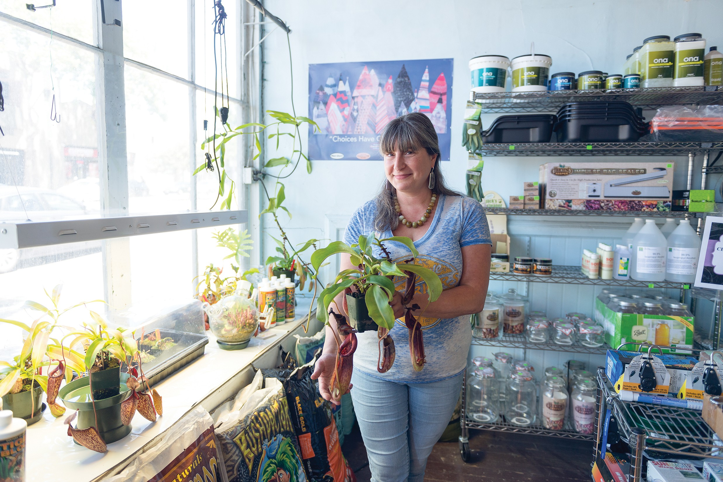 Click To Enlarge Corrie Abraham Will Help You Learn How Grow Your Own At Berkeley Indoor Garden