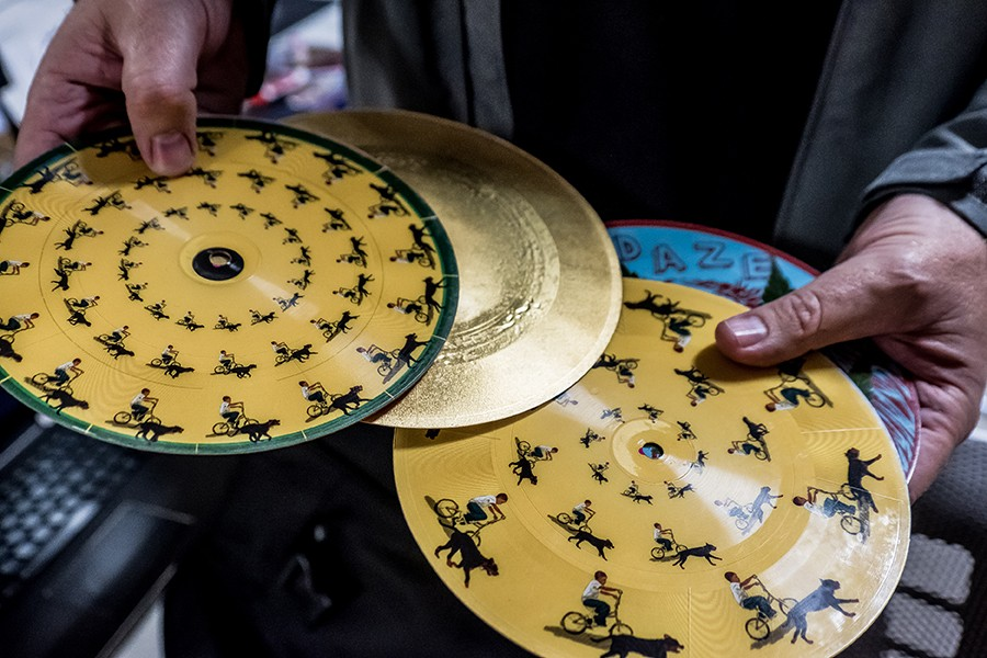 Vinyl sales have been growing steadily over the past several years. - PHOTO BY DARRYL BARNES