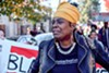 Sixty-three-year-old former Black Panther Aunti Frances has been living in her North Oakland triplex since 2009 and says it's the only place she can afford in the city.