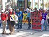 Anti-coal activists marched on Saturday before the beginning of San Francisco's Global Climate Action Summit.
