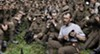British soldiers relax between battles in <i>They Shall Not Grow Old</i>.