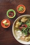 Teo Chow Noodle impresses with won ton soup.