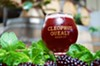 Refreshing golden ale with berries, mint, and lavender