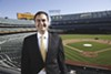 A's President Dave Kaval.
