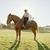 """Urban Cowboy. Richmond, 2010"" from Paccarick Orue's collection, <i>There is Nothing Beautiful Around Here</i>."
