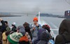Constance Hockaday gave a guerilla radio tour of San Francisco Bay from a public ferry.