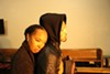 Dawn Troupe (left) and William Hartfield play heartbreaking victims of gun violence in <i>The Gospel of Lovingkindness. </i>